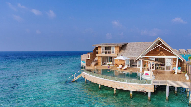 Milaidhoo Island Maldives Launches the Residences new Spectacular Beach & Water Villas