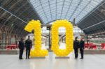 Eurostar celebrates 10 years at St Pancras International
