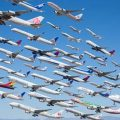 The busiest passenger air routes in the world revealed
