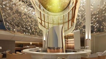 Design duo Jouin Manku bring their iconic touch to more revolutionary spaces on Celebrity Edge